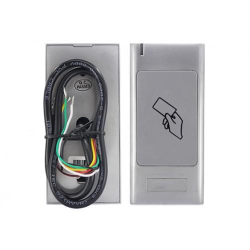 Вандалоустойчив метален контролер RFID 125kHz за контрол на достъп с чип и дистанционно управление