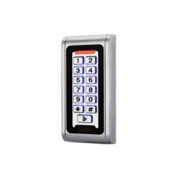Вандалоустойчива и водоустойчив RFID 125kHz система за контрол на достъп с клавиатура и чип метални бутони